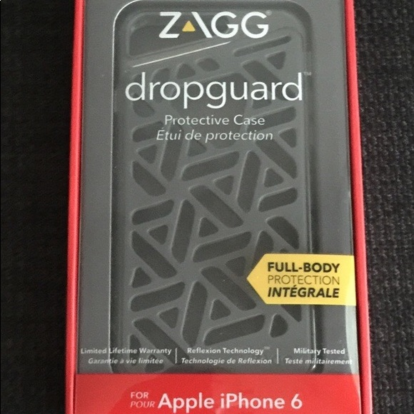 huge selection of e2df0 cef4c Zagg Dropguard protective case for iPhone 6/6s
